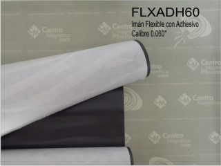 Imán flexible con Adhesivo Calibre 60