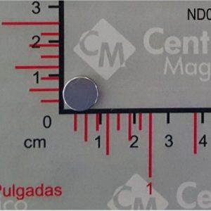 IMÁN NDFE DISCO 10 X 2 mm