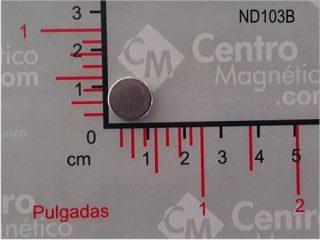 IMÁN DE CENTRO MAGNETICO
